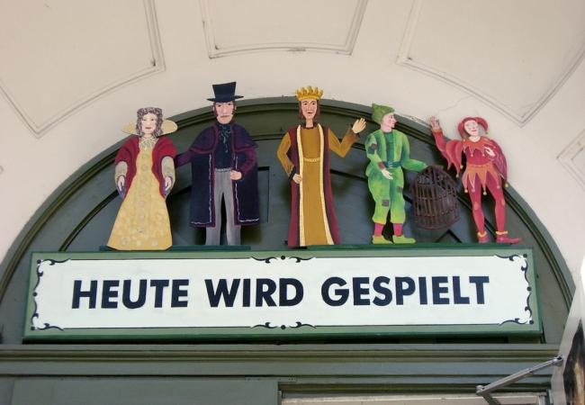 Münchner Marionettentheater (Eingang)