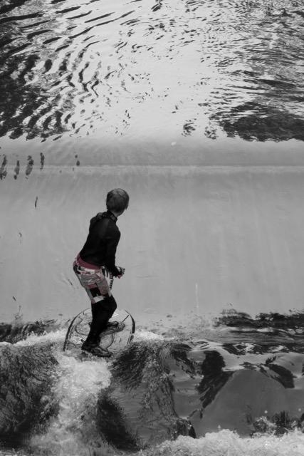 Auch wir sind Wellenreiter