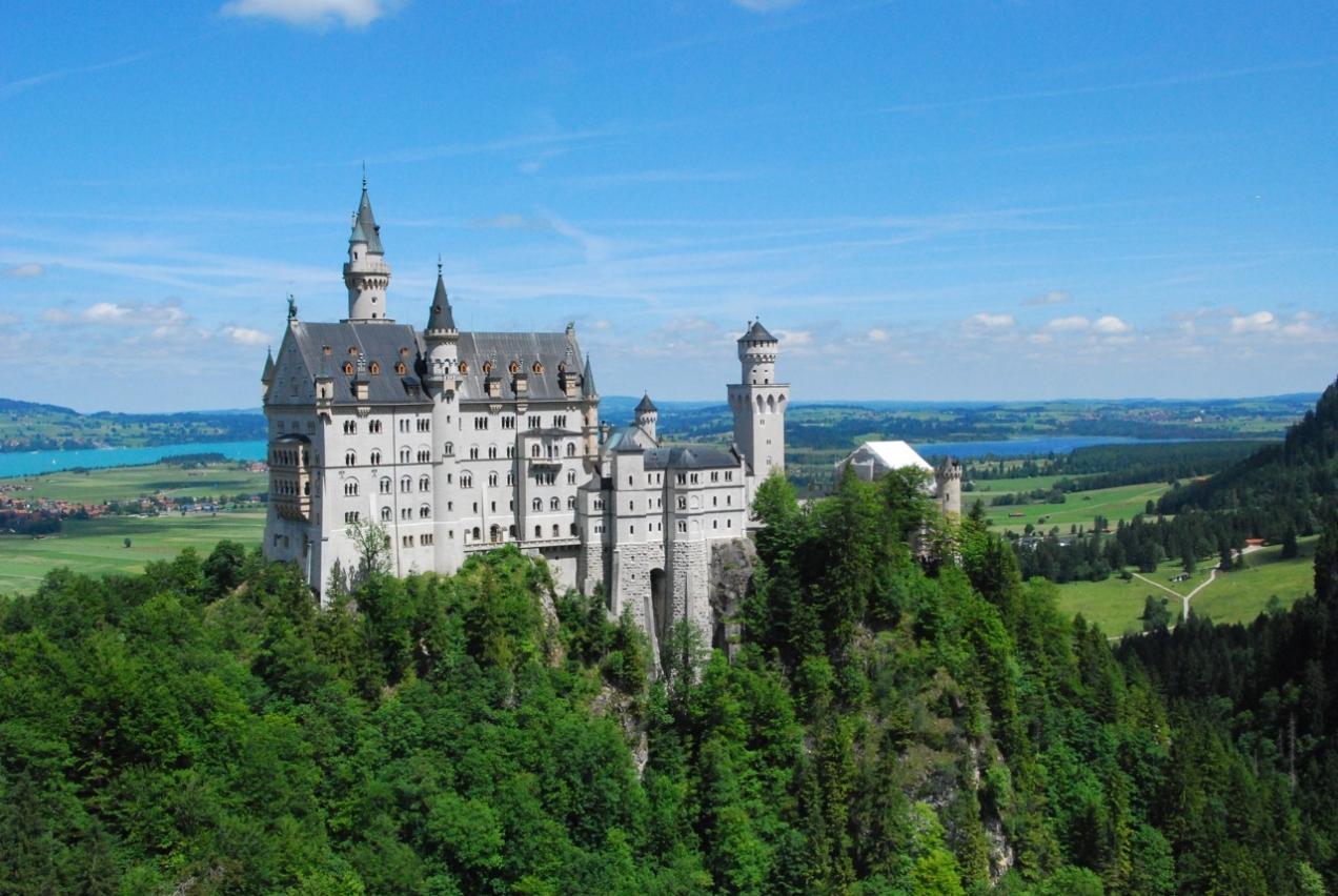 Ich bau dir ein Schloss, so wie im Märchen …