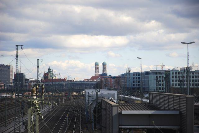 Blick von der Donnersbergerbrücke