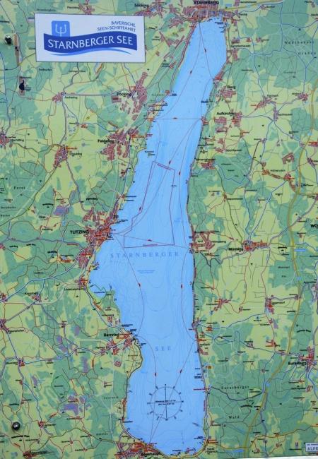 Starnberger See (Karte)