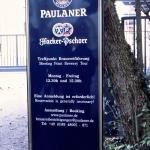 Eingang Paulaner-Brauerei