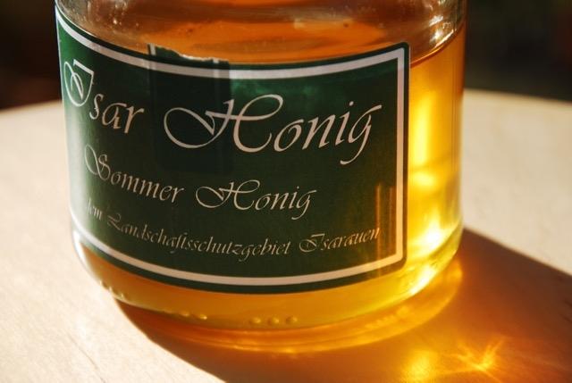 Honig-Ernte …