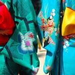 Kimonos mit Obi