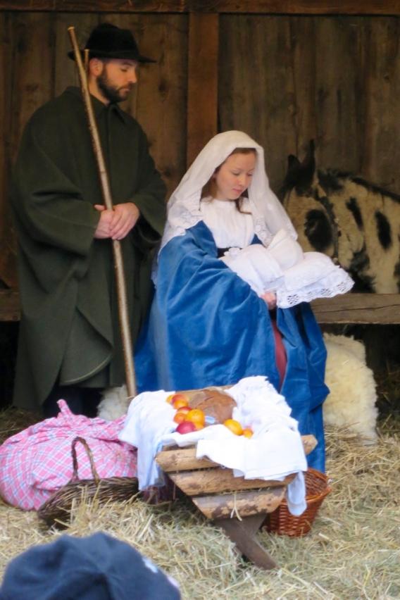 Maria mit Kind …