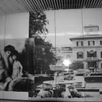Lenbach-Familie in der U-Bahn