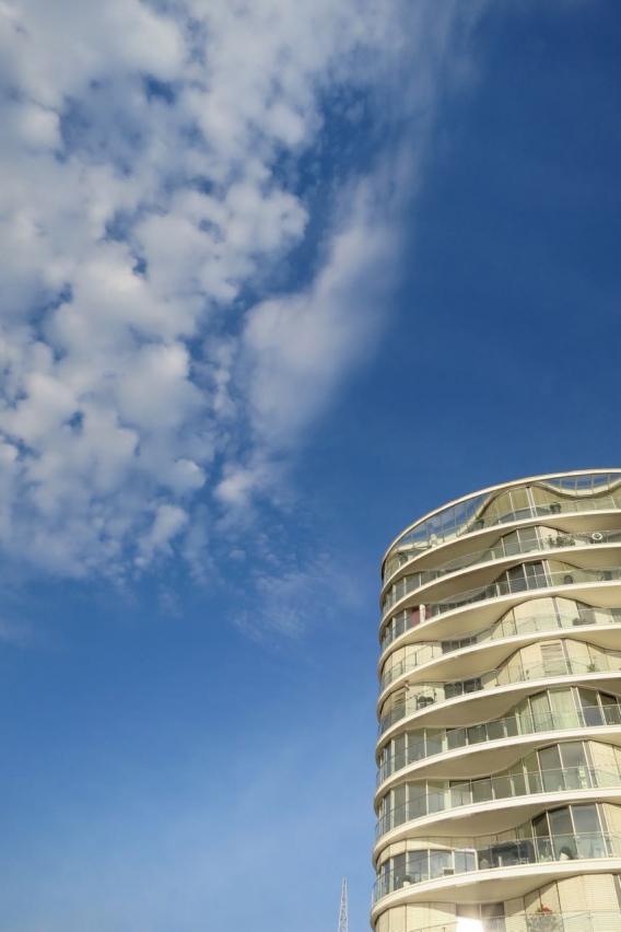 Wolke und Welle