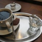 Die Tasse Kaffee aus Kenia