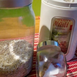 Müslidge-Zutaten