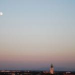 Mond über Neuperlach